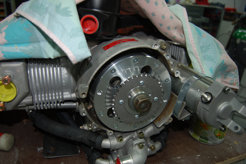 Rotax 912 Injection perso Volant2